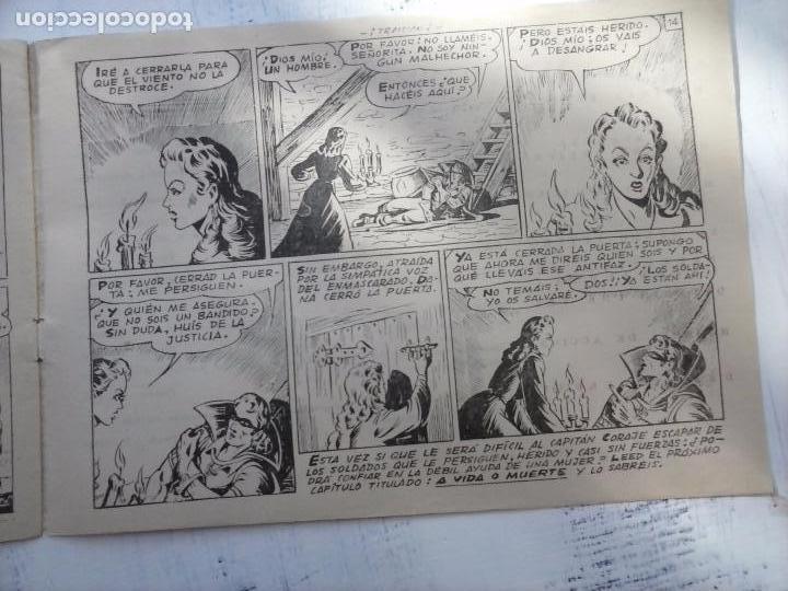 Tebeos: EL CAPITÁN CORAJE ORIGINAL TORAY 1958 COMPLETA 1 AL 44 IRANZO, SUELTA, VER TODAS LAS PORTADAS - Foto 18 - 105026571