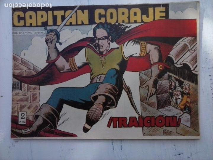 Tebeos: EL CAPITÁN CORAJE ORIGINAL TORAY 1958 COMPLETA 1 AL 44 IRANZO, SUELTA, VER TODAS LAS PORTADAS - Foto 20 - 105026571