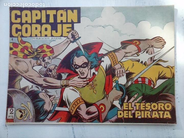 Tebeos: EL CAPITÁN CORAJE ORIGINAL TORAY 1958 COMPLETA 1 AL 44 IRANZO, SUELTA, VER TODAS LAS PORTADAS - Foto 26 - 105026571
