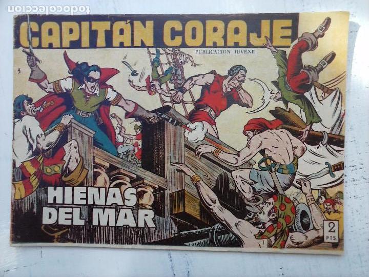 Tebeos: EL CAPITÁN CORAJE ORIGINAL TORAY 1958 COMPLETA 1 AL 44 IRANZO, SUELTA, VER TODAS LAS PORTADAS - Foto 29 - 105026571