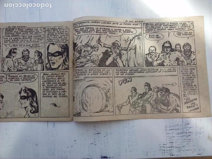 Tebeos: EL CAPITÁN CORAJE ORIGINAL TORAY 1958 COMPLETA 1 AL 44 IRANZO, SUELTA, VER TODAS LAS PORTADAS - Foto 30 - 105026571