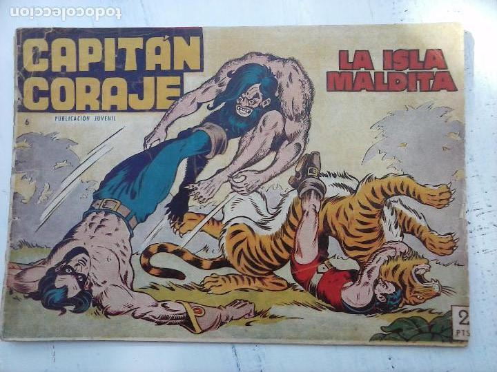 Tebeos: EL CAPITÁN CORAJE ORIGINAL TORAY 1958 COMPLETA 1 AL 44 IRANZO, SUELTA, VER TODAS LAS PORTADAS - Foto 32 - 105026571