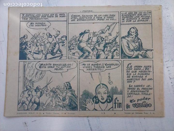 Tebeos: EL CAPITÁN CORAJE ORIGINAL TORAY 1958 COMPLETA 1 AL 44 IRANZO, SUELTA, VER TODAS LAS PORTADAS - Foto 35 - 105026571