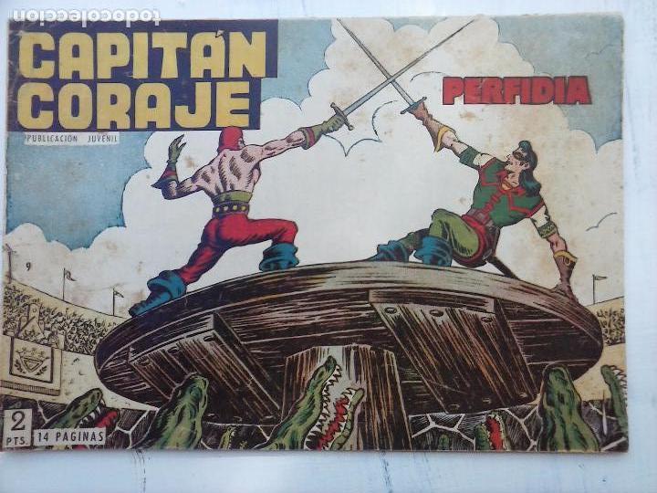 Tebeos: EL CAPITÁN CORAJE ORIGINAL TORAY 1958 COMPLETA 1 AL 44 IRANZO, SUELTA, VER TODAS LAS PORTADAS - Foto 36 - 105026571