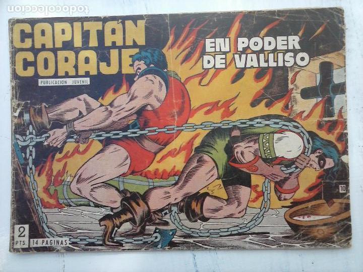 Tebeos: EL CAPITÁN CORAJE ORIGINAL TORAY 1958 COMPLETA 1 AL 44 IRANZO, SUELTA, VER TODAS LAS PORTADAS - Foto 38 - 105026571
