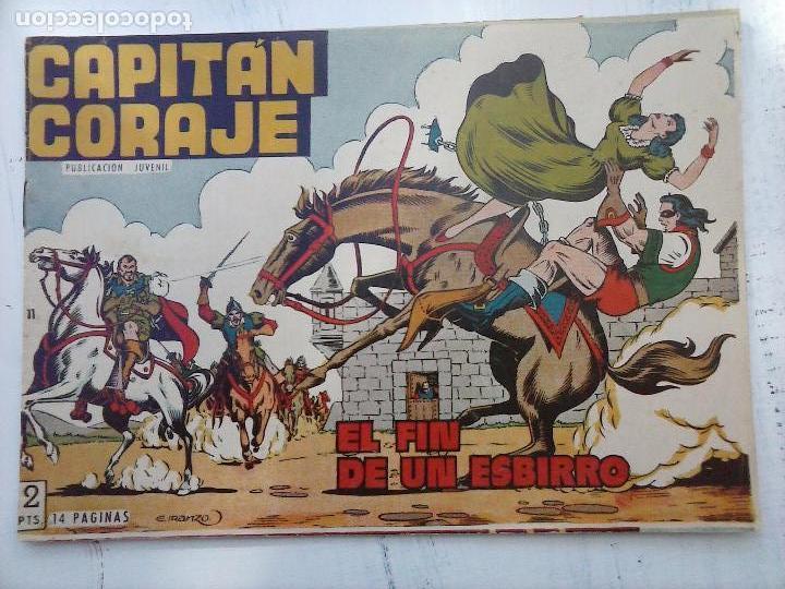Tebeos: EL CAPITÁN CORAJE ORIGINAL TORAY 1958 COMPLETA 1 AL 44 IRANZO, SUELTA, VER TODAS LAS PORTADAS - Foto 40 - 105026571