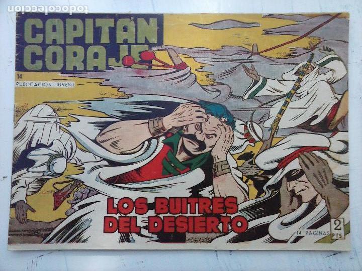 Tebeos: EL CAPITÁN CORAJE ORIGINAL TORAY 1958 COMPLETA 1 AL 44 IRANZO, SUELTA, VER TODAS LAS PORTADAS - Foto 41 - 105026571