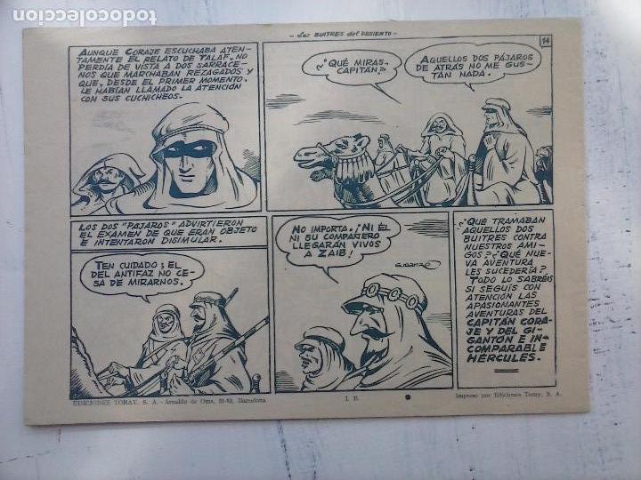 Tebeos: EL CAPITÁN CORAJE ORIGINAL TORAY 1958 COMPLETA 1 AL 44 IRANZO, SUELTA, VER TODAS LAS PORTADAS - Foto 42 - 105026571