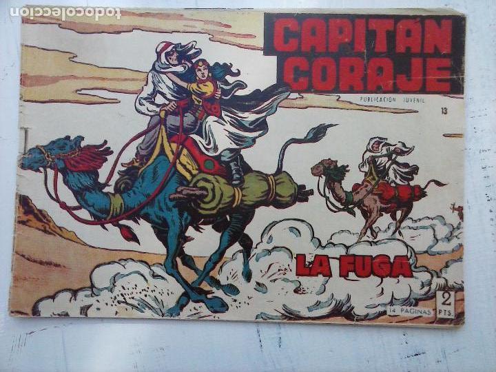 Tebeos: EL CAPITÁN CORAJE ORIGINAL TORAY 1958 COMPLETA 1 AL 44 IRANZO, SUELTA, VER TODAS LAS PORTADAS - Foto 43 - 105026571