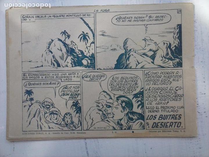 Tebeos: EL CAPITÁN CORAJE ORIGINAL TORAY 1958 COMPLETA 1 AL 44 IRANZO, SUELTA, VER TODAS LAS PORTADAS - Foto 44 - 105026571
