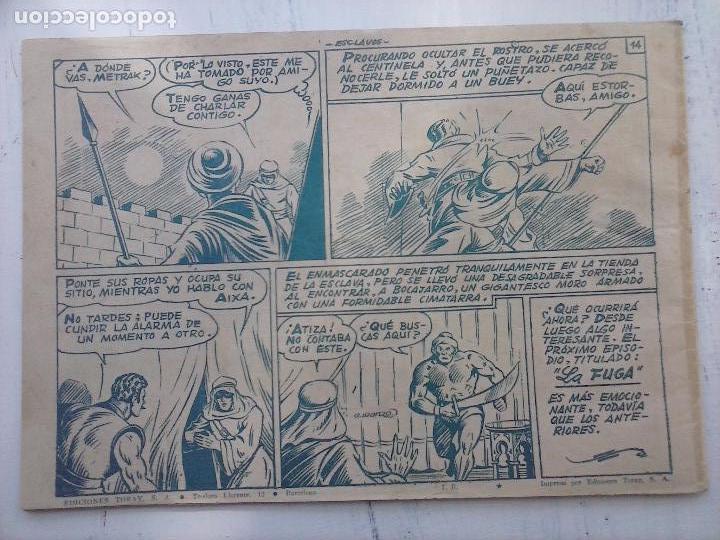 Tebeos: EL CAPITÁN CORAJE ORIGINAL TORAY 1958 COMPLETA 1 AL 44 IRANZO, SUELTA, VER TODAS LAS PORTADAS - Foto 46 - 105026571