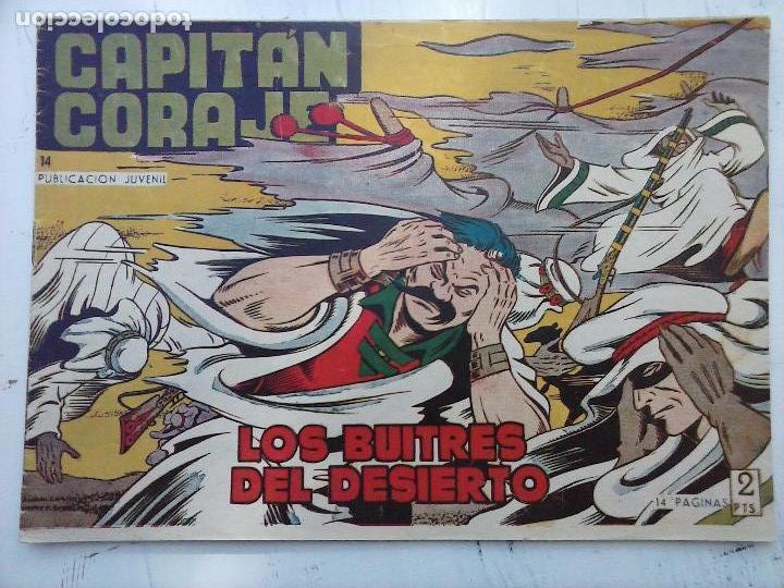 Tebeos: EL CAPITÁN CORAJE ORIGINAL TORAY 1958 COMPLETA 1 AL 44 IRANZO, SUELTA, VER TODAS LAS PORTADAS - Foto 47 - 105026571