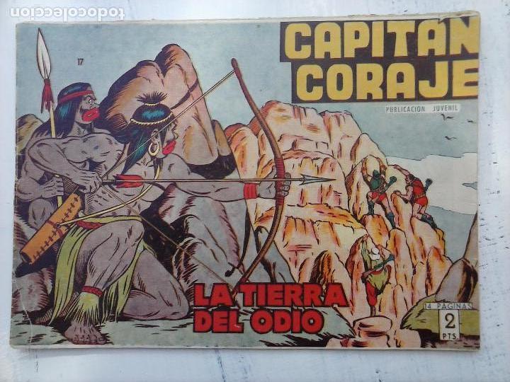 Tebeos: EL CAPITÁN CORAJE ORIGINAL TORAY 1958 COMPLETA 1 AL 44 IRANZO, SUELTA, VER TODAS LAS PORTADAS - Foto 53 - 105026571
