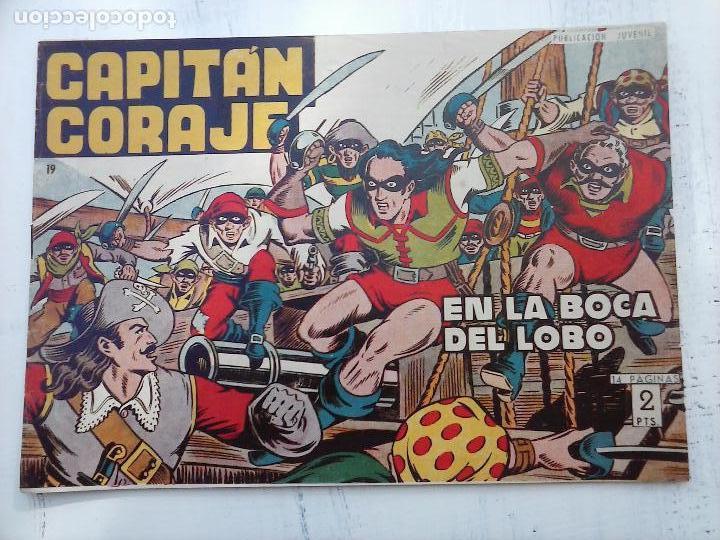 Tebeos: EL CAPITÁN CORAJE ORIGINAL TORAY 1958 COMPLETA 1 AL 44 IRANZO, SUELTA, VER TODAS LAS PORTADAS - Foto 56 - 105026571