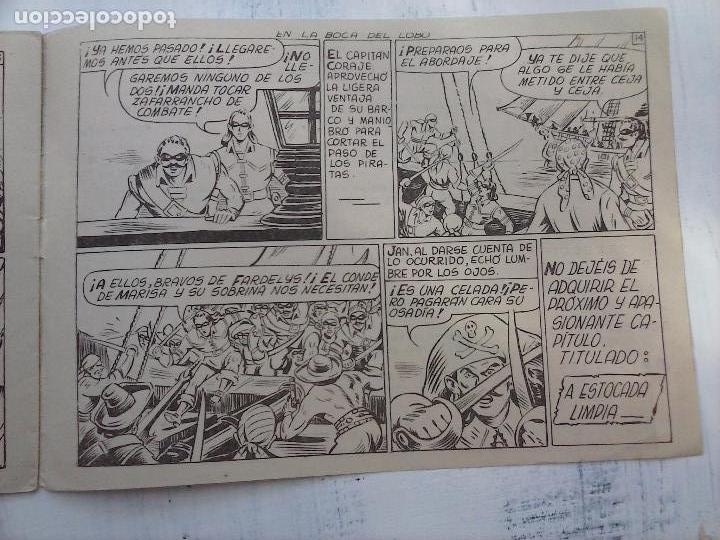 Tebeos: EL CAPITÁN CORAJE ORIGINAL TORAY 1958 COMPLETA 1 AL 44 IRANZO, SUELTA, VER TODAS LAS PORTADAS - Foto 58 - 105026571