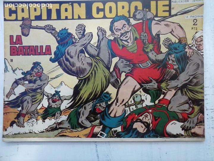 Tebeos: EL CAPITÁN CORAJE ORIGINAL TORAY 1958 COMPLETA 1 AL 44 IRANZO, SUELTA, VER TODAS LAS PORTADAS - Foto 59 - 105026571