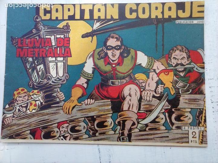 Tebeos: EL CAPITÁN CORAJE ORIGINAL TORAY 1958 COMPLETA 1 AL 44 IRANZO, SUELTA, VER TODAS LAS PORTADAS - Foto 64 - 105026571