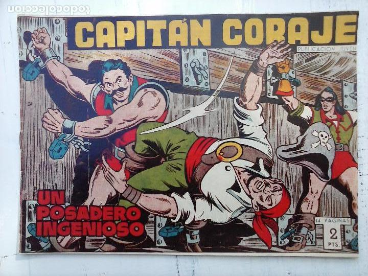 Tebeos: EL CAPITÁN CORAJE ORIGINAL TORAY 1958 COMPLETA 1 AL 44 IRANZO, SUELTA, VER TODAS LAS PORTADAS - Foto 67 - 105026571