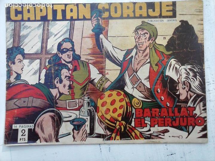 Tebeos: EL CAPITÁN CORAJE ORIGINAL TORAY 1958 COMPLETA 1 AL 44 IRANZO, SUELTA, VER TODAS LAS PORTADAS - Foto 68 - 105026571