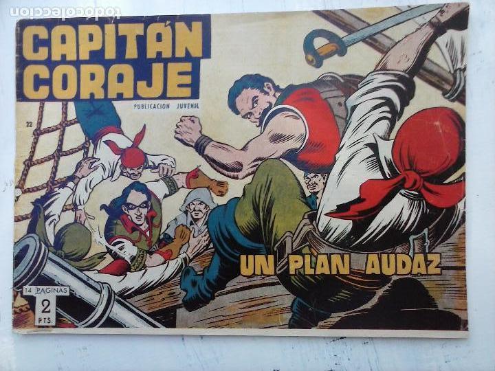 Tebeos: EL CAPITÁN CORAJE ORIGINAL TORAY 1958 COMPLETA 1 AL 44 IRANZO, SUELTA, VER TODAS LAS PORTADAS - Foto 70 - 105026571