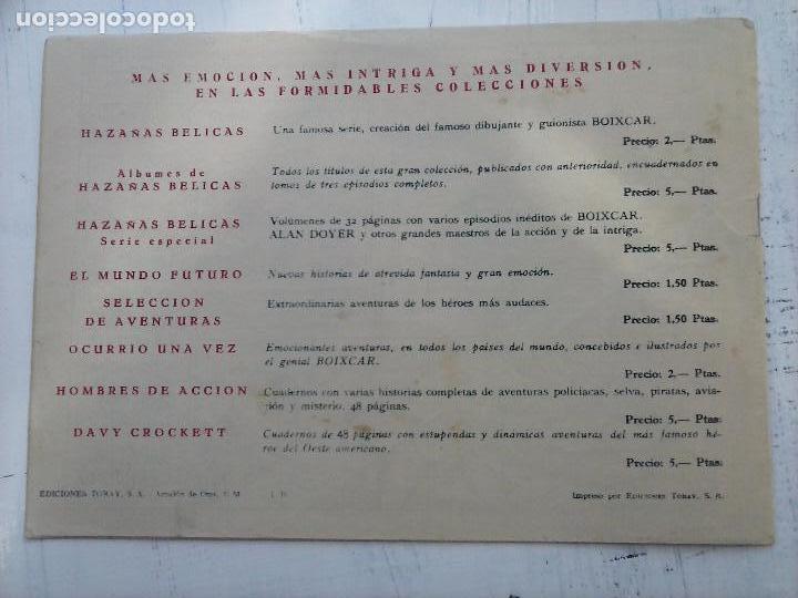 Tebeos: EL CAPITÁN CORAJE ORIGINAL TORAY 1958 COMPLETA 1 AL 44 IRANZO, SUELTA, VER TODAS LAS PORTADAS - Foto 71 - 105026571