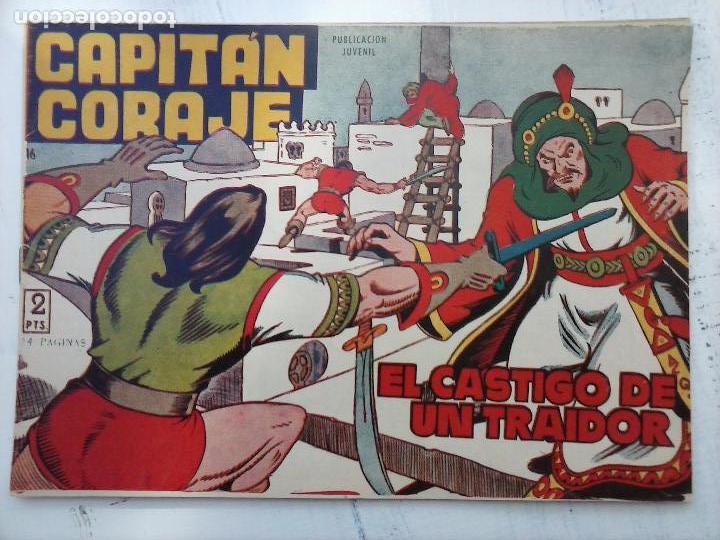 Tebeos: EL CAPITÁN CORAJE ORIGINAL TORAY 1958 COMPLETA 1 AL 44 IRANZO, SUELTA, VER TODAS LAS PORTADAS - Foto 72 - 105026571