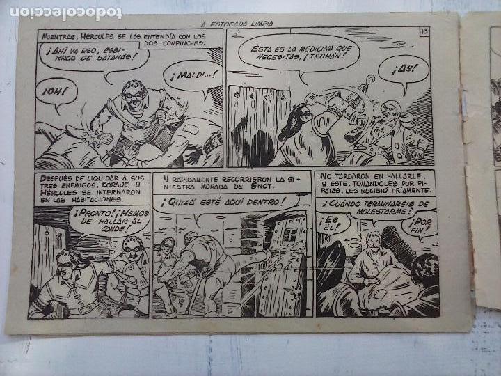 Tebeos: EL CAPITÁN CORAJE ORIGINAL TORAY 1958 COMPLETA 1 AL 44 IRANZO, SUELTA, VER TODAS LAS PORTADAS - Foto 73 - 105026571
