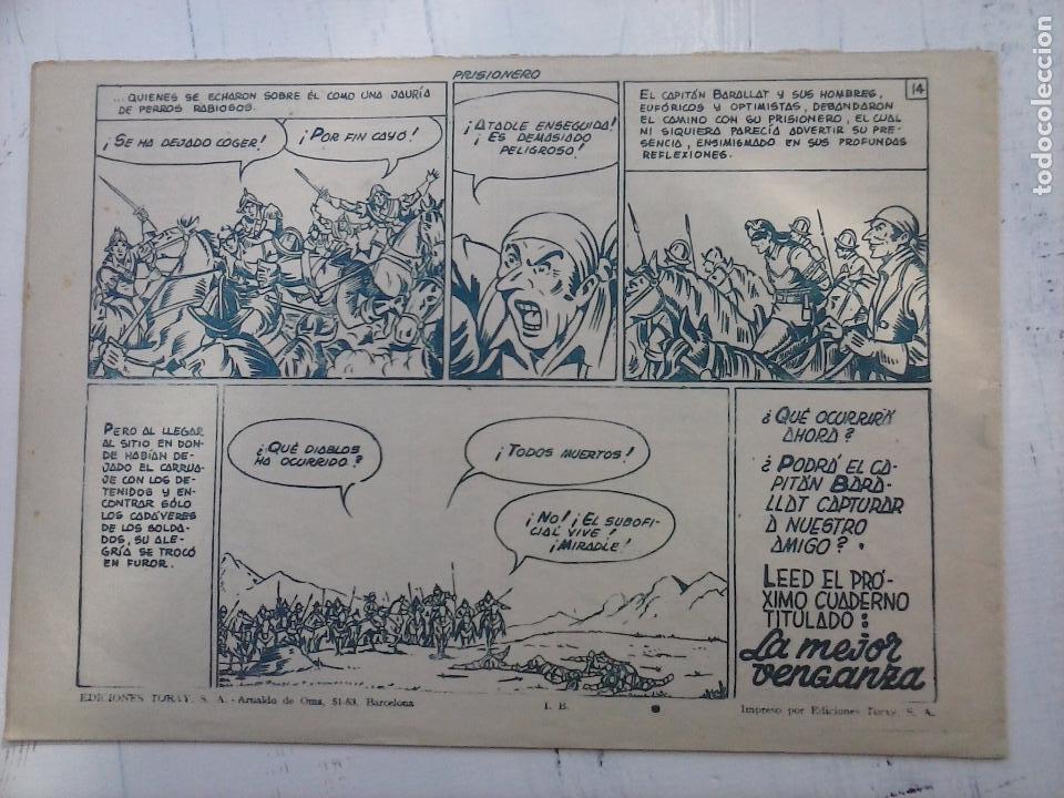 Tebeos: EL CAPITÁN CORAJE ORIGINAL TORAY 1958 COMPLETA 1 AL 44 IRANZO, SUELTA, VER TODAS LAS PORTADAS - Foto 74 - 105026571