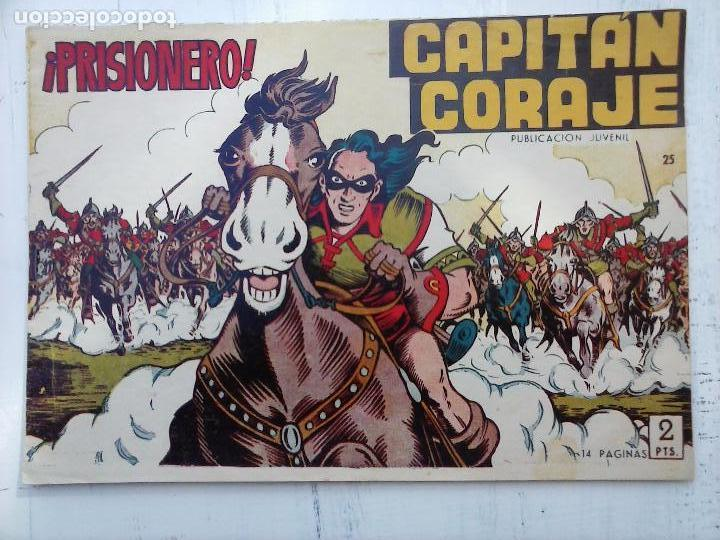 Tebeos: EL CAPITÁN CORAJE ORIGINAL TORAY 1958 COMPLETA 1 AL 44 IRANZO, SUELTA, VER TODAS LAS PORTADAS - Foto 75 - 105026571