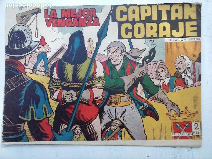 Tebeos: EL CAPITÁN CORAJE ORIGINAL TORAY 1958 COMPLETA 1 AL 44 IRANZO, SUELTA, VER TODAS LAS PORTADAS - Foto 77 - 105026571