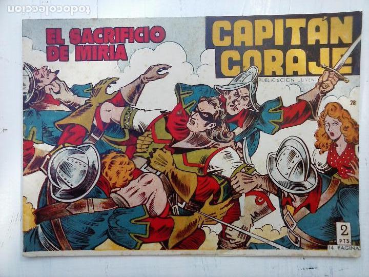 Tebeos: EL CAPITÁN CORAJE ORIGINAL TORAY 1958 COMPLETA 1 AL 44 IRANZO, SUELTA, VER TODAS LAS PORTADAS - Foto 79 - 105026571