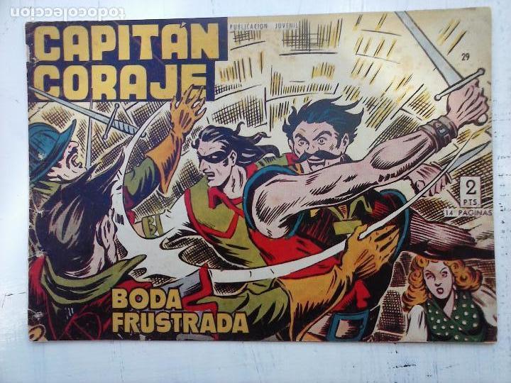 Tebeos: EL CAPITÁN CORAJE ORIGINAL TORAY 1958 COMPLETA 1 AL 44 IRANZO, SUELTA, VER TODAS LAS PORTADAS - Foto 80 - 105026571