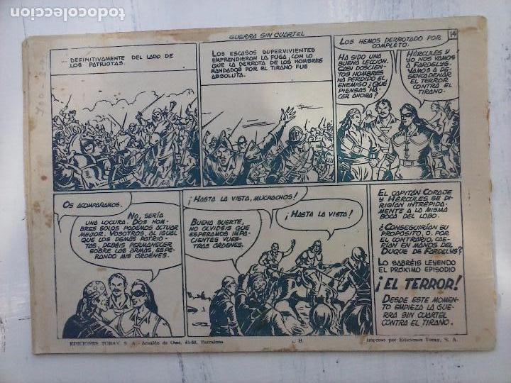 Tebeos: EL CAPITÁN CORAJE ORIGINAL TORAY 1958 COMPLETA 1 AL 44 IRANZO, SUELTA, VER TODAS LAS PORTADAS - Foto 81 - 105026571