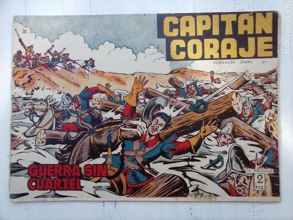 Tebeos: EL CAPITÁN CORAJE ORIGINAL TORAY 1958 COMPLETA 1 AL 44 IRANZO, SUELTA, VER TODAS LAS PORTADAS - Foto 82 - 105026571