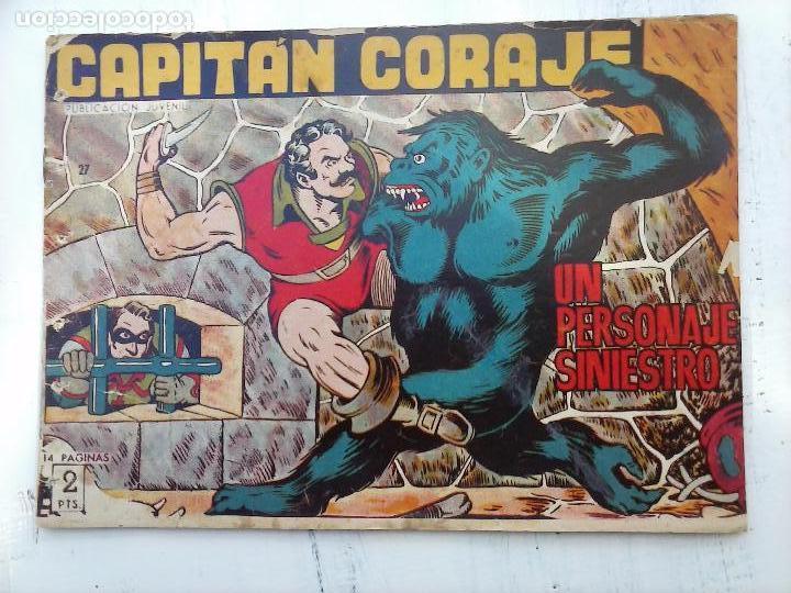 Tebeos: EL CAPITÁN CORAJE ORIGINAL TORAY 1958 COMPLETA 1 AL 44 IRANZO, SUELTA, VER TODAS LAS PORTADAS - Foto 83 - 105026571