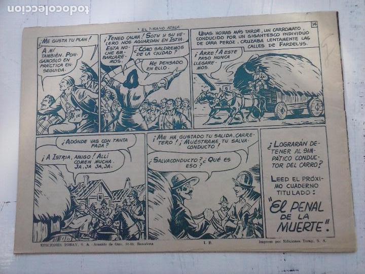 Tebeos: EL CAPITÁN CORAJE ORIGINAL TORAY 1958 COMPLETA 1 AL 44 IRANZO, SUELTA, VER TODAS LAS PORTADAS - Foto 86 - 105026571
