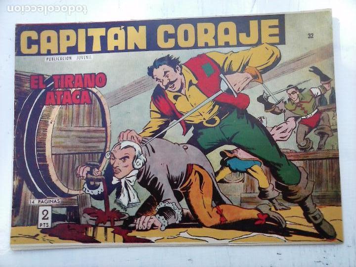 Tebeos: EL CAPITÁN CORAJE ORIGINAL TORAY 1958 COMPLETA 1 AL 44 IRANZO, SUELTA, VER TODAS LAS PORTADAS - Foto 87 - 105026571