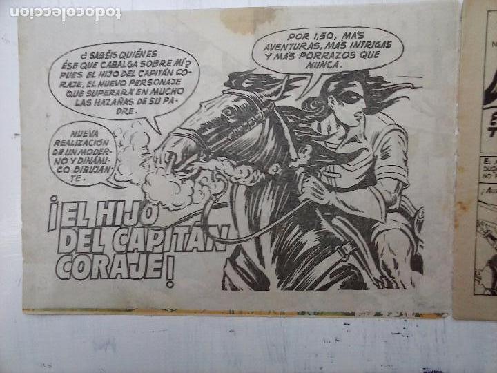 Tebeos: EL CAPITÁN CORAJE ORIGINAL TORAY 1958 COMPLETA 1 AL 44 IRANZO, SUELTA, VER TODAS LAS PORTADAS - Foto 89 - 105026571