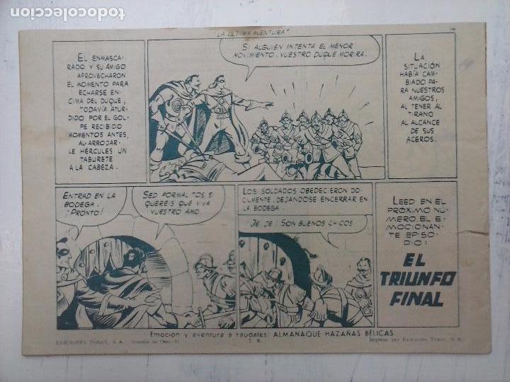 Tebeos: EL CAPITÁN CORAJE ORIGINAL TORAY 1958 COMPLETA 1 AL 44 IRANZO, SUELTA, VER TODAS LAS PORTADAS - Foto 90 - 105026571