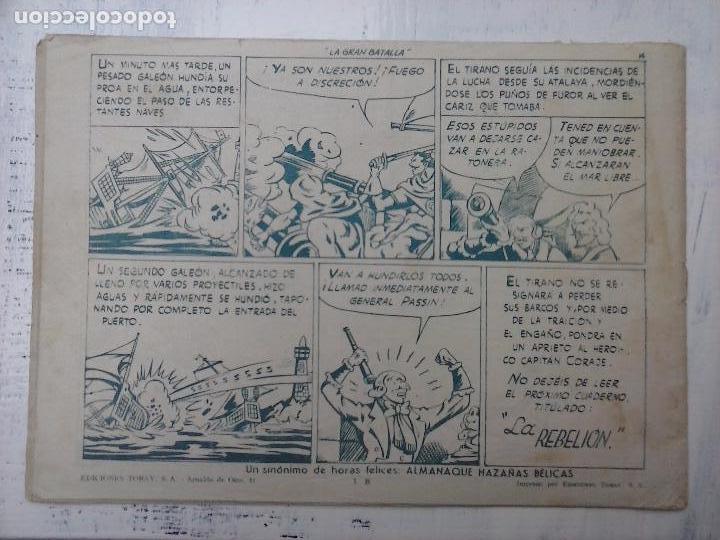 Tebeos: EL CAPITÁN CORAJE ORIGINAL TORAY 1958 COMPLETA 1 AL 44 IRANZO, SUELTA, VER TODAS LAS PORTADAS - Foto 94 - 105026571