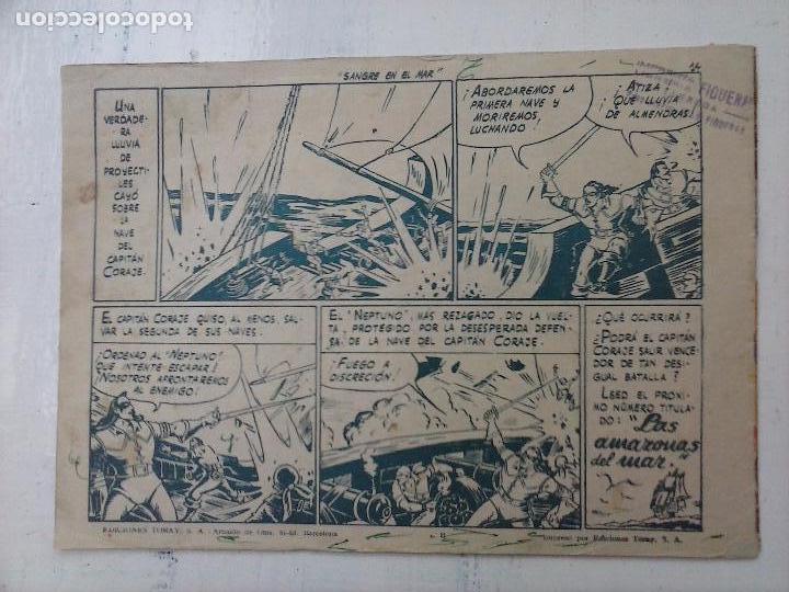 Tebeos: EL CAPITÁN CORAJE ORIGINAL TORAY 1958 COMPLETA 1 AL 44 IRANZO, SUELTA, VER TODAS LAS PORTADAS - Foto 96 - 105026571