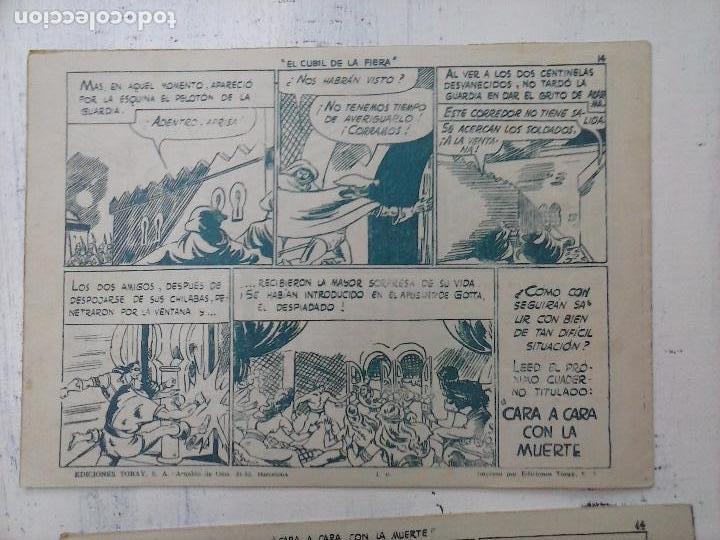 Tebeos: EL CAPITÁN CORAJE ORIGINAL TORAY 1958 COMPLETA 1 AL 44 IRANZO, SUELTA, VER TODAS LAS PORTADAS - Foto 98 - 105026571