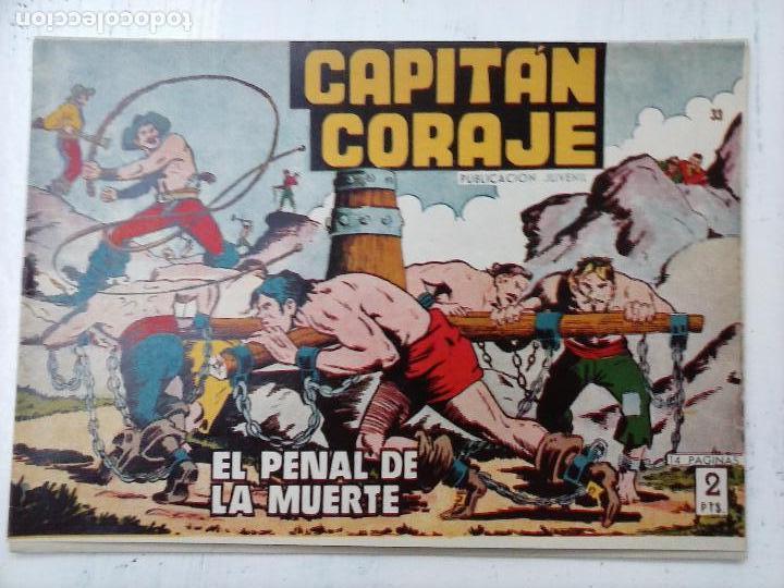 Tebeos: EL CAPITÁN CORAJE ORIGINAL TORAY 1958 COMPLETA 1 AL 44 IRANZO, SUELTA, VER TODAS LAS PORTADAS - Foto 100 - 105026571