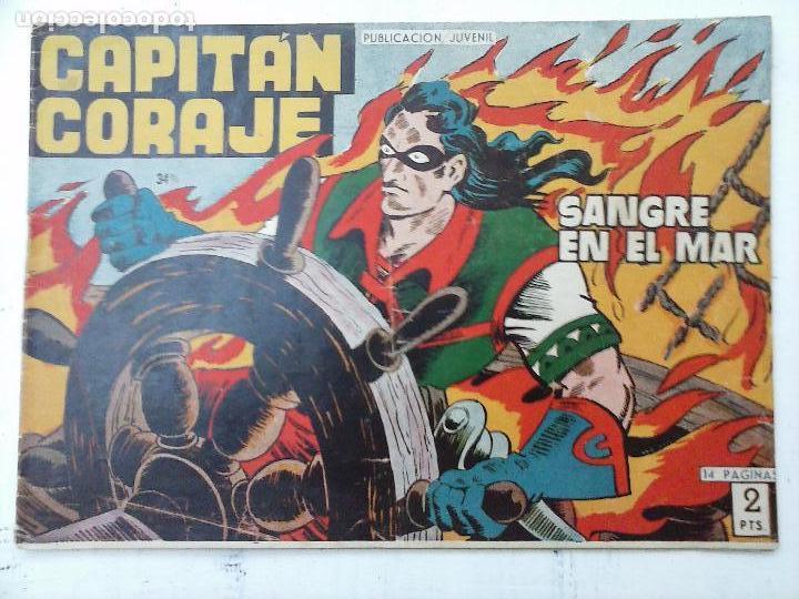 Tebeos: EL CAPITÁN CORAJE ORIGINAL TORAY 1958 COMPLETA 1 AL 44 IRANZO, SUELTA, VER TODAS LAS PORTADAS - Foto 101 - 105026571