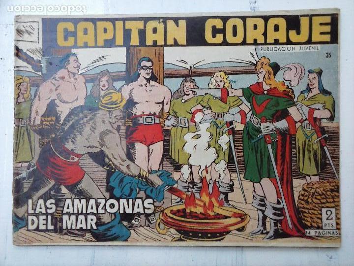 Tebeos: EL CAPITÁN CORAJE ORIGINAL TORAY 1958 COMPLETA 1 AL 44 IRANZO, SUELTA, VER TODAS LAS PORTADAS - Foto 102 - 105026571