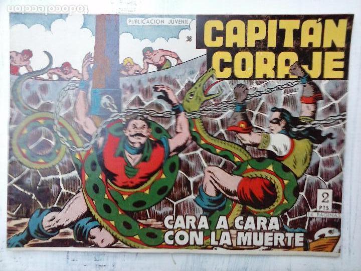 Tebeos: EL CAPITÁN CORAJE ORIGINAL TORAY 1958 COMPLETA 1 AL 44 IRANZO, SUELTA, VER TODAS LAS PORTADAS - Foto 103 - 105026571
