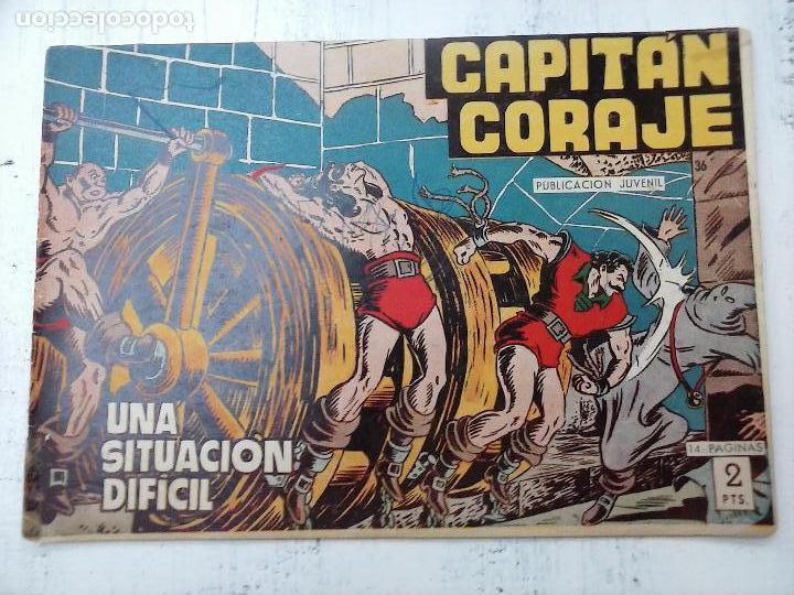 Tebeos: EL CAPITÁN CORAJE ORIGINAL TORAY 1958 COMPLETA 1 AL 44 IRANZO, SUELTA, VER TODAS LAS PORTADAS - Foto 104 - 105026571