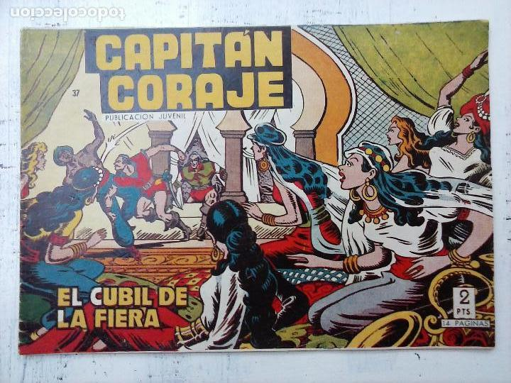 Tebeos: EL CAPITÁN CORAJE ORIGINAL TORAY 1958 COMPLETA 1 AL 44 IRANZO, SUELTA, VER TODAS LAS PORTADAS - Foto 105 - 105026571