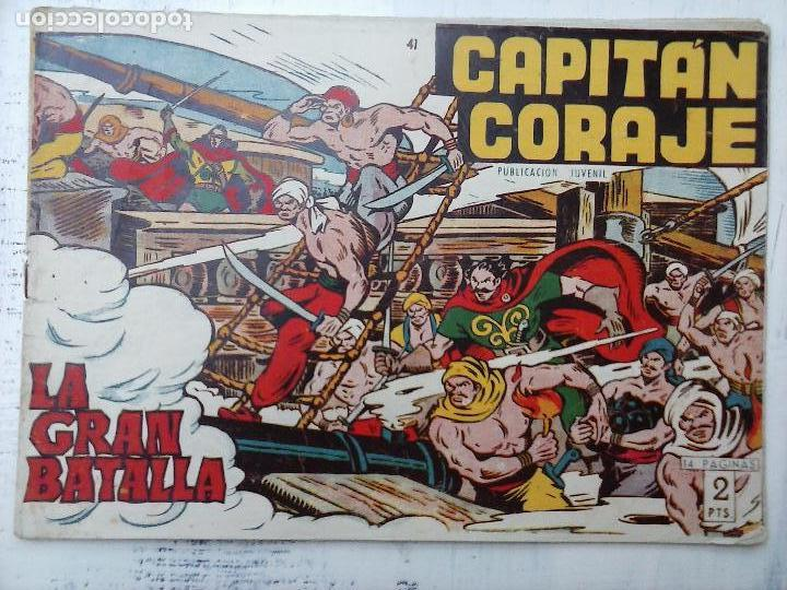Tebeos: EL CAPITÁN CORAJE ORIGINAL TORAY 1958 COMPLETA 1 AL 44 IRANZO, SUELTA, VER TODAS LAS PORTADAS - Foto 106 - 105026571