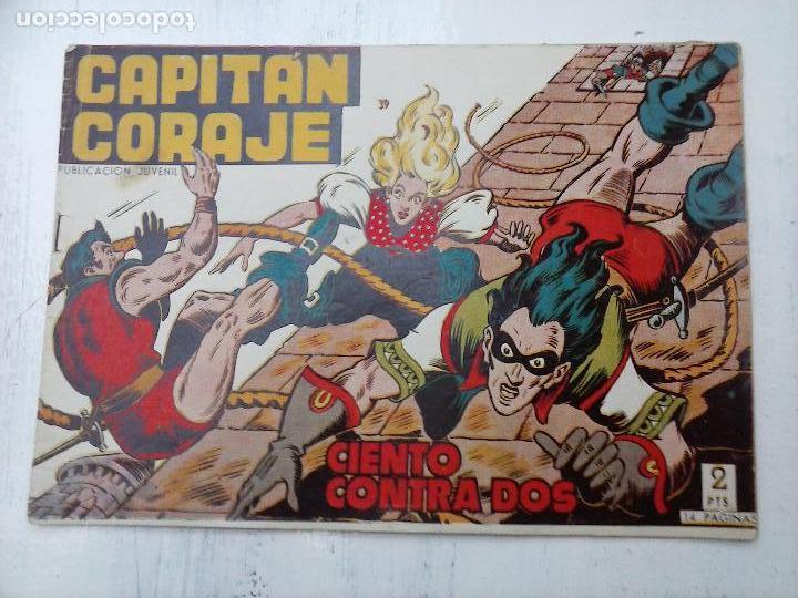 Tebeos: EL CAPITÁN CORAJE ORIGINAL TORAY 1958 COMPLETA 1 AL 44 IRANZO, SUELTA, VER TODAS LAS PORTADAS - Foto 108 - 105026571